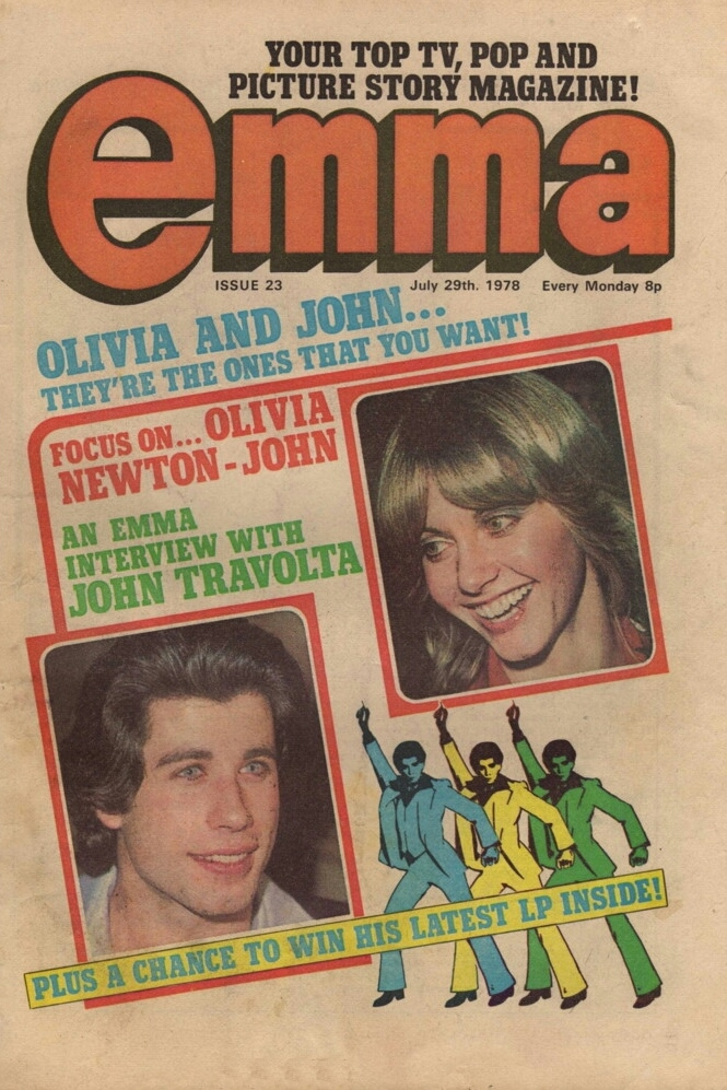 Front Cover Of The Comic Emma Dated 29 July 1978