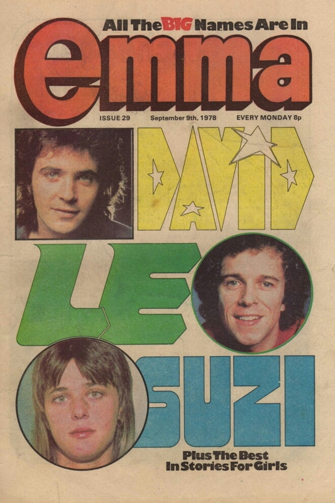 Front Cover of The Comic Emma Dated 9 September 1978