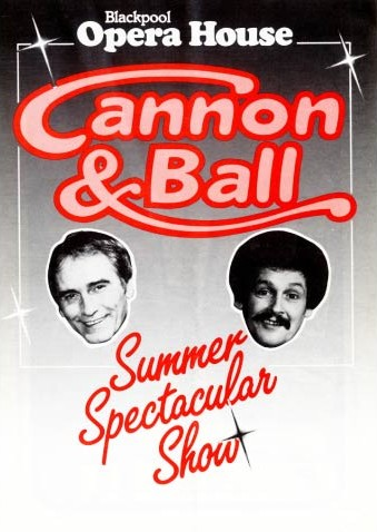 Front Cover Of The Programme For The Cannon And Ball Summer Spectacular Show 1985