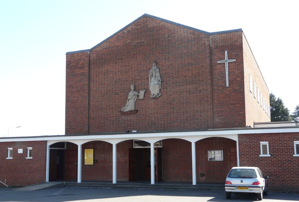 The Roman Catholic Church of St Augustine, Presbytery, High Street, Hoddesdon, Herts EN11 8DS